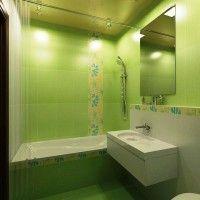 зелена ванна кімната фото 26