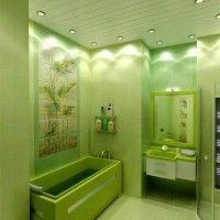 зелена ванна кімната фото 22