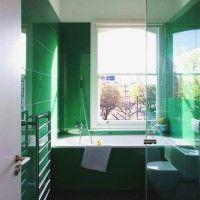 зелена ванна кімната фото 52