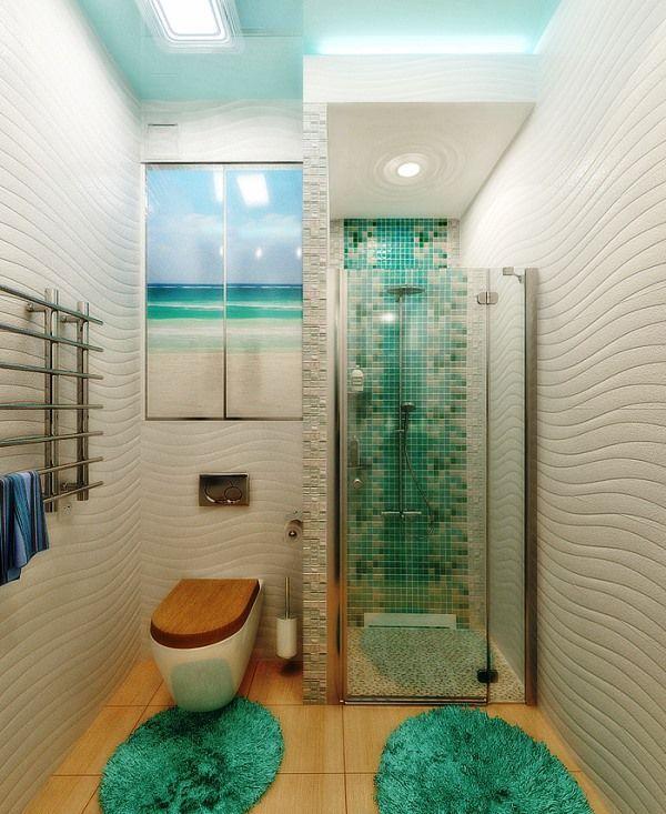 зелена ванна кімната фото 2