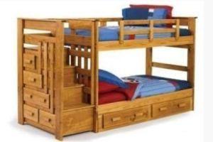 дитяча двох`ярусна ліжко фото