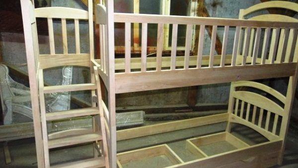 двох`ярусна ліжко для дітей фото 10