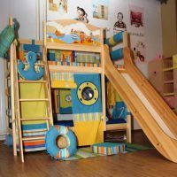 двох`ярусна ліжко для дітей фото 37