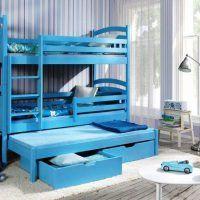 двох`ярусна ліжко для дітей фото 32