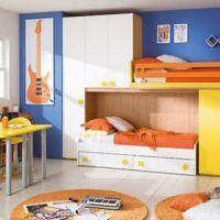 двох`ярусна ліжко для дітей фото 11