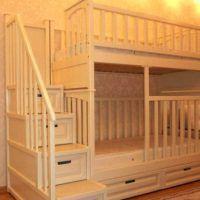 двох`ярусна ліжко для дітей фото 21