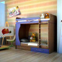 двох`ярусна ліжко для дітей фото 40