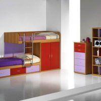 двох`ярусна ліжко для дітей фото 25
