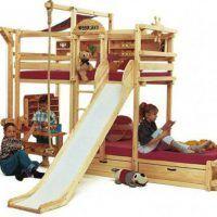 двох`ярусна ліжко для дітей фото 13