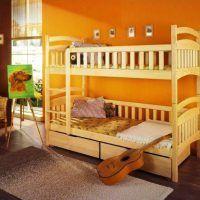 двох`ярусна ліжко для дітей фото 29