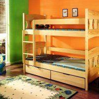 двох`ярусна ліжко для дітей фото 53