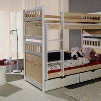 двох`ярусна ліжко для дітей фото 46