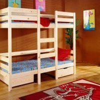 двох`ярусна ліжко для дітей фото 34