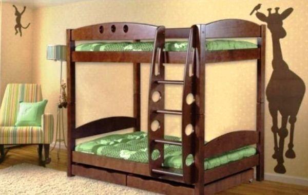 двох`ярусна ліжко для дітей фото 3