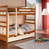 двох`ярусна ліжко для дітей фото 49
