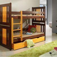двох`ярусна ліжко для дітей фото 47