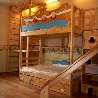 двох`ярусна ліжко для дітей фото 23