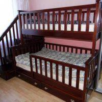 двох`ярусна ліжко для дітей фото 14