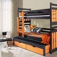 двох`ярусна ліжко для дітей фото 30