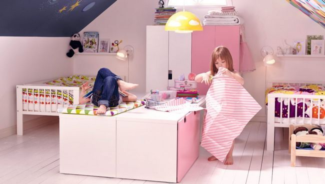 Двоє дітей в квартирі: як розподілити простір