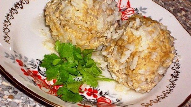 Їжачки з фаршу з рисом