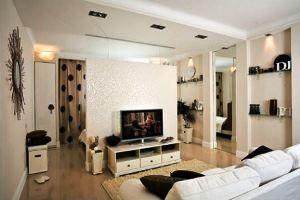 Готуємося до ремонту однокімнатної квартири: оригінальні ідеї перепланування і оформлення