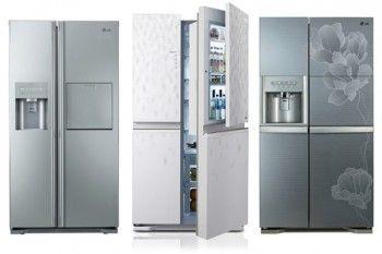 Холодильники lg категорії sbs (двері в двері)