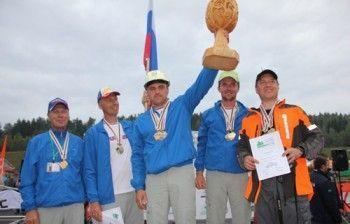 Husqvarna 576 xp в руках чемпіона світу серед вальників лісу 2012