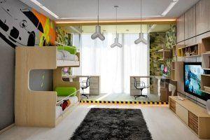 Ідеї для дизайну дитячої кімнати для двох дітей: особливості планування +62 фото