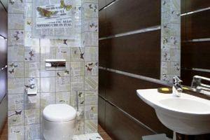 Ідеї і практичні варіанти дизайну туалету в квартирі: фото і відео