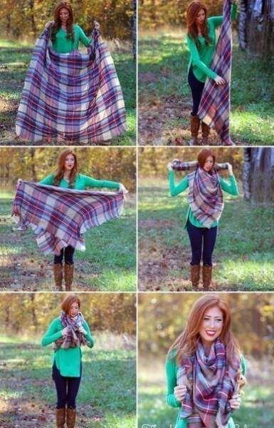 Ідеї   як зав`язати шарф