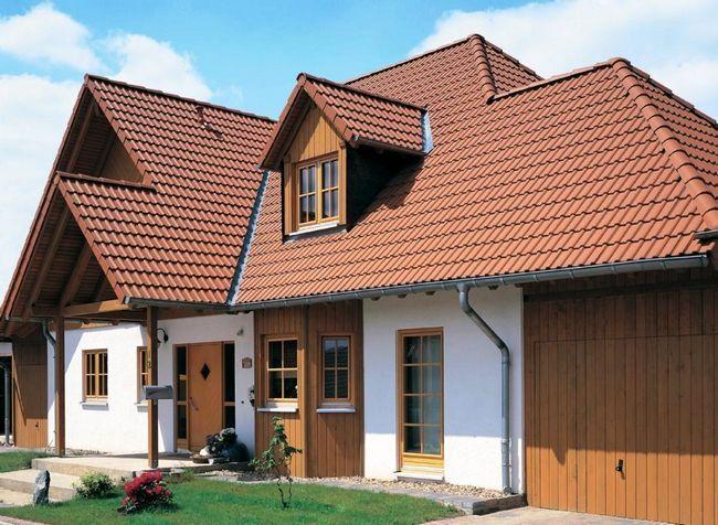 Цікаві проекти дахів приватних будинків (50 фото)