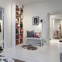 Використання скандинавського стилю в інтер`єрі малогабаритних квартир + 30 фото