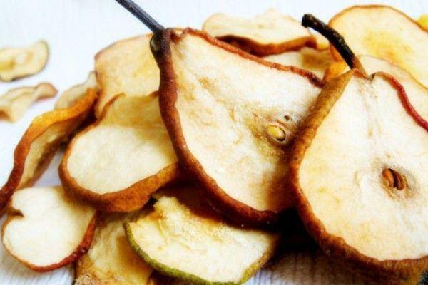 Як зберігати сушені груші