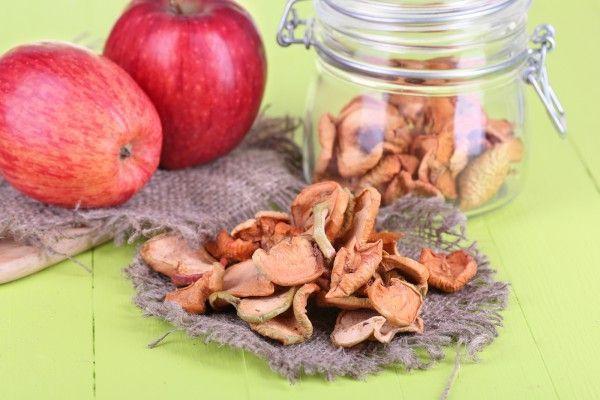 Як зберігати сушку з яблук