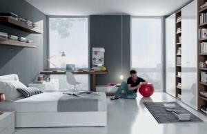 Як облаштувати кімнату для хлопчика-підлітка: дизайн меблів і ремонт (фото і відео)