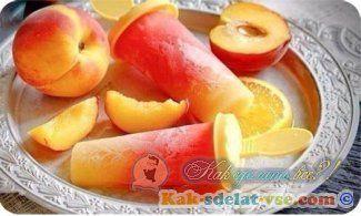 Як зробити фруктовий лід?