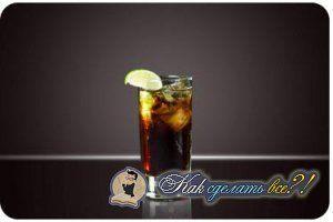 Як зробити коктейль Куба Лібре?