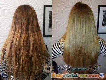 Як зробити ламінування волосся желатином?