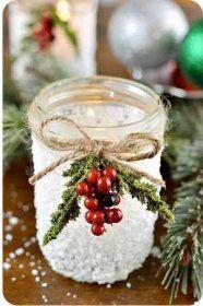 Як зробити новорічний свічник?