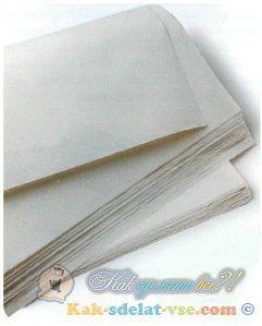 Як зробити рисовий папір?