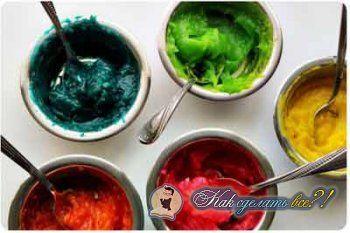 Як зробити їстівні фарби?