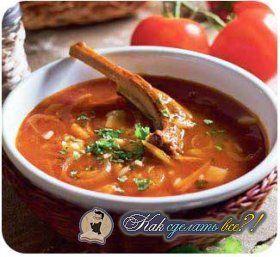 Як зробити суп харчо?