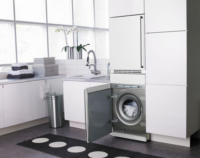 Як встановити і куди поставити пральну машину в квартирі