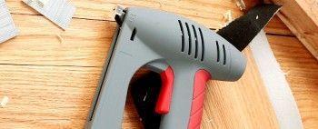Як вибрати будівельний степлер?