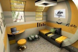 Кімната для хлопчика-підлітка: підбираємо меблі (фото / відео)
