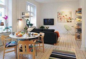 Красиві фотографії маленьких квартир в дизайнерському оформленні
