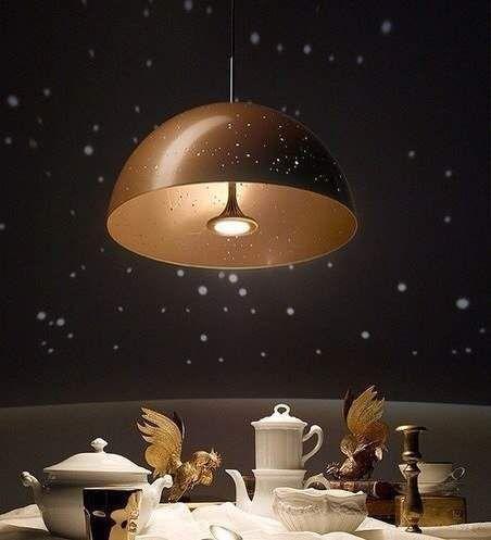Люстра, що проектує сузір`я
