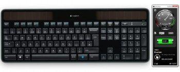 Logitech solar app - контроль живлення клавіатури