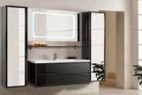 Меблі для ванної: різновиди, ідеї і кращі фото варіантів обстановки